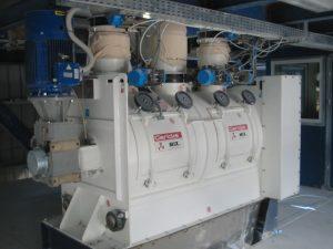plough-share mixer